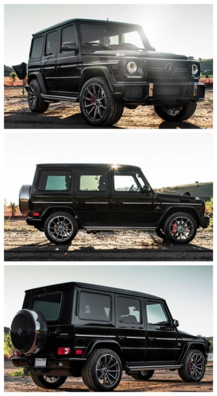 10 of the Fastest SUV's on the Planet - this Mercedes-Benz G63 AMG is up there. Click to find out where. #SUV # spon #power
