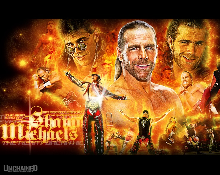 #1 Shawn Michaels: The absolute best wrestler ever! HBK was a huge inspiration to as a kid, wanted to be just like him :)