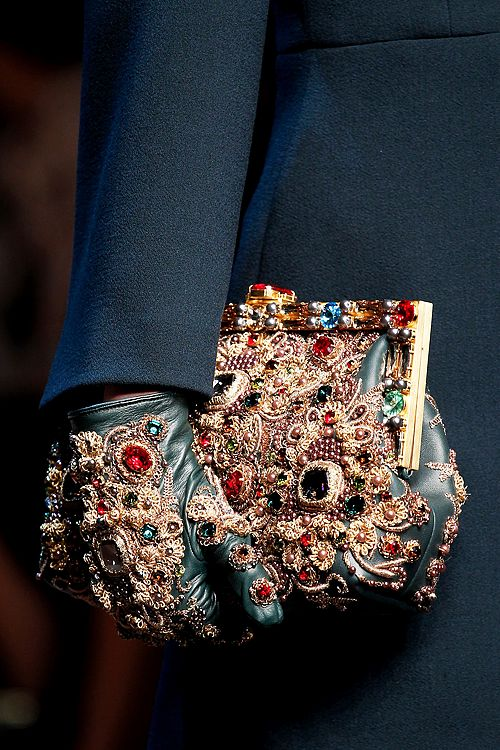 """ Dolce & Gabbana Fall/Winter 2014 "" www.foreveryminute.com"