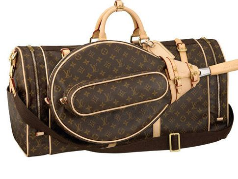 This is just what I need... a Louis Vuitton tennis bag ;-). Tennis team bag??? Haha