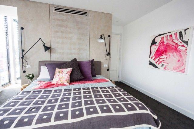 Last but not least is Kyal and Kara on last week's Block master bedroom suite reveal #theblock