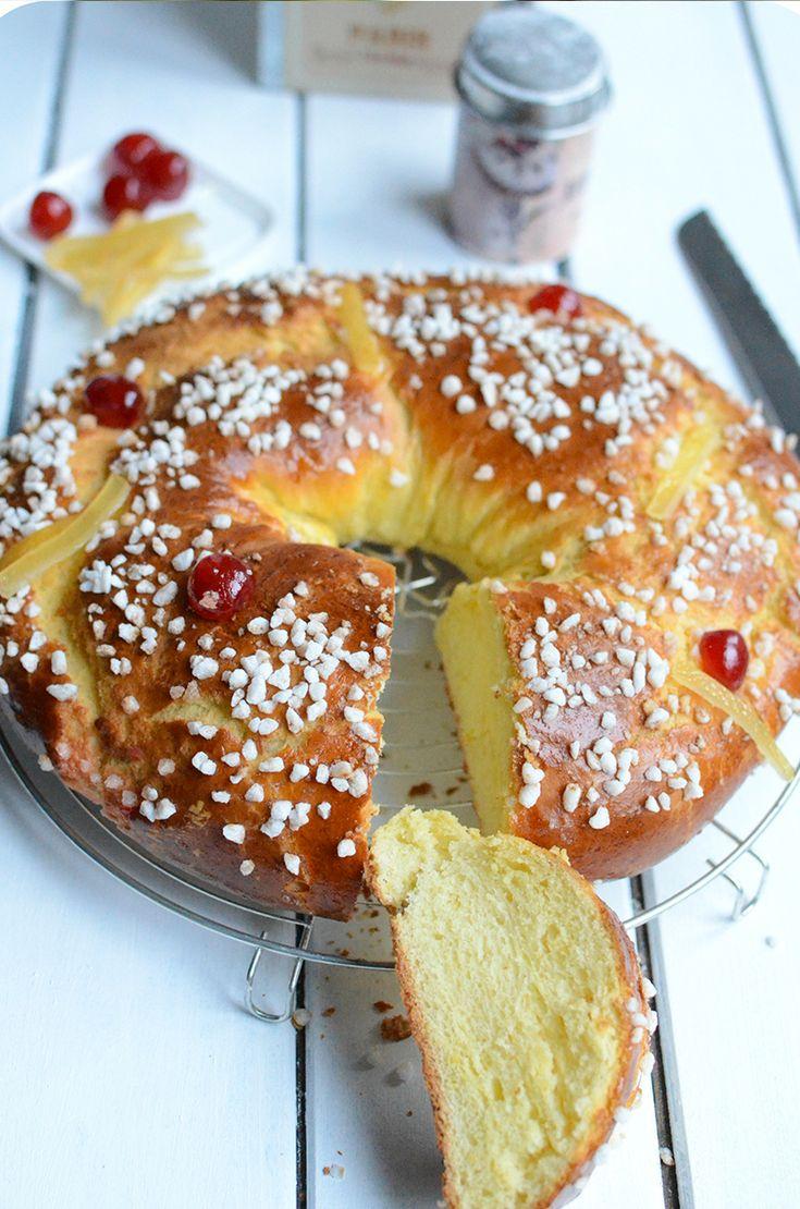 La galette des rois version provençale   Aujourd'hui nous vous proposons la recette du Gâteau des Rois à l'huile d'olive!  Une idée originale pour bluffer votre famille et vos convives, l'huile d'olivedonne une texture formidable à la brioche, une mie filante et puis