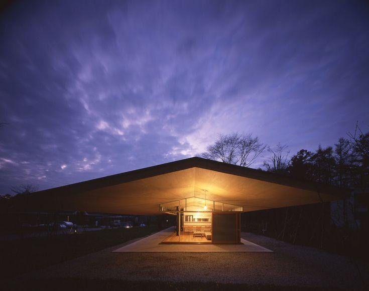 Tezuka Architects - Pitched roof house, Karuizawa 2009