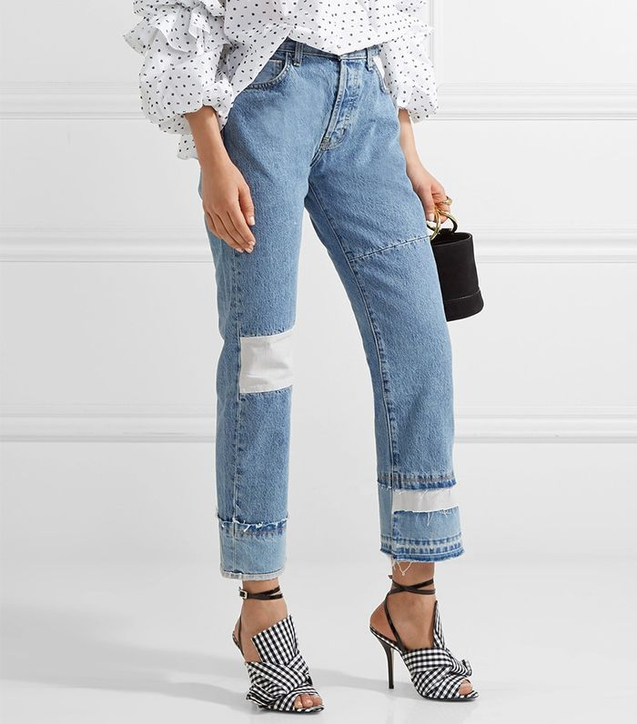 Is Every NYC Girl Wearing These Jeans Now? via @WhoWhatWear