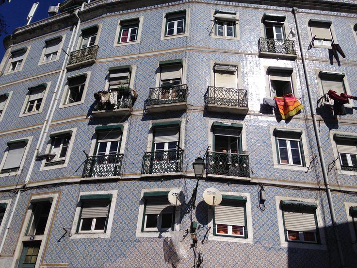 Azulejos, Lisboa.