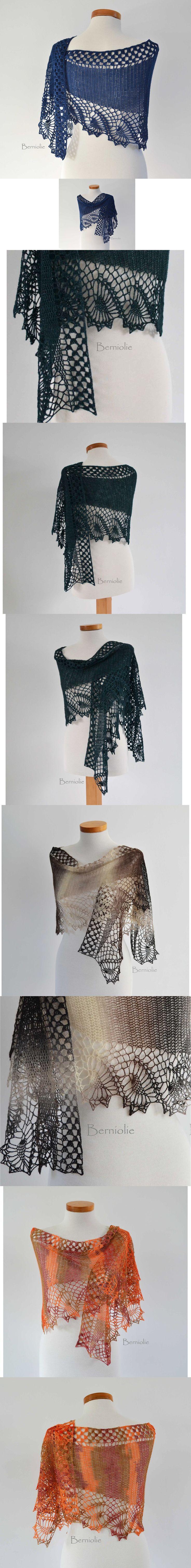 Ravelry: Crochet shawl by Bernadette Ambergen
