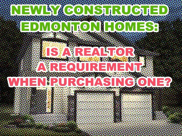 Buying a brand new Edmonton home this 2016? Find out if you need a Realtor's help.  #homesforsaleedmonton #edmontonrealestate #edmontonproperties  #edmontonhousesforsale