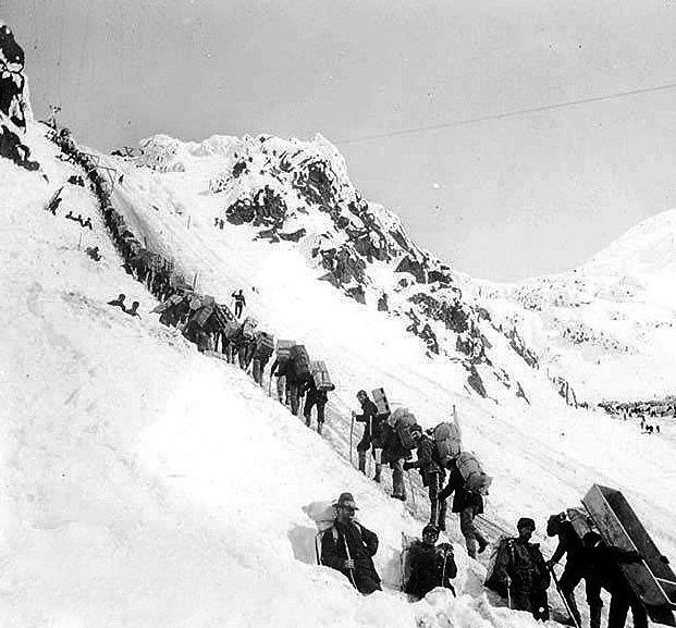 Trail to the Yukon Goldfields - Retronaut