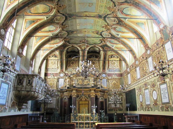 Casale Monferrato. The ancient Synagogue