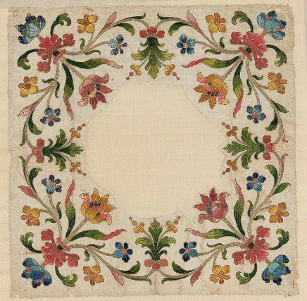 Chalice veil - Italian - 17th century