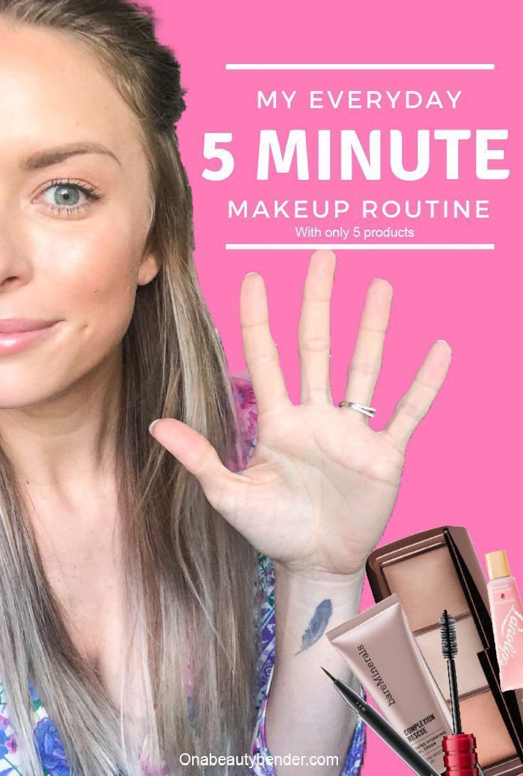 My Everyday 5 Minute Makeup On A Beauty Bender Everyday Makeup Routine Makeup For Moms Simple Everyday Makeup