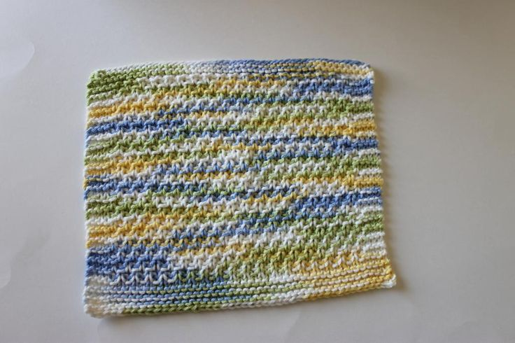 Knitted Moss Stitch Dishcloth Pattern : (6)+Name:+Knitting+:+Moss+Stitch+Dishcloth+(KDCP-002) Knit dishcloth p...