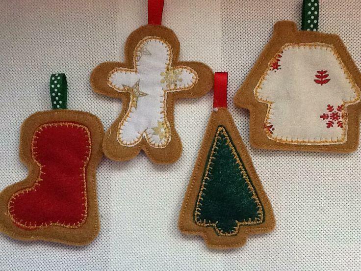 Christmas Decorations, Design from Nobbie Neez.