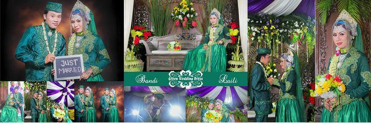 #Design Wedding Album #GreenWeddingDress
