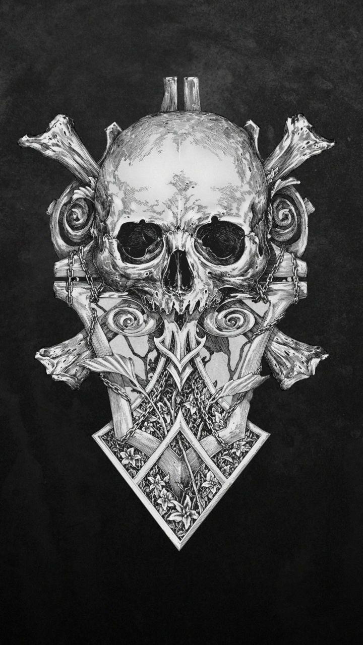 Skull Monochrome Dark Art Artwork Monochrome Cute Mobile Wallpapers Superhero Wallpaper Iphone Hd Wallpapers For Mobile Redmi note 5 wallpaper hd 1080p download