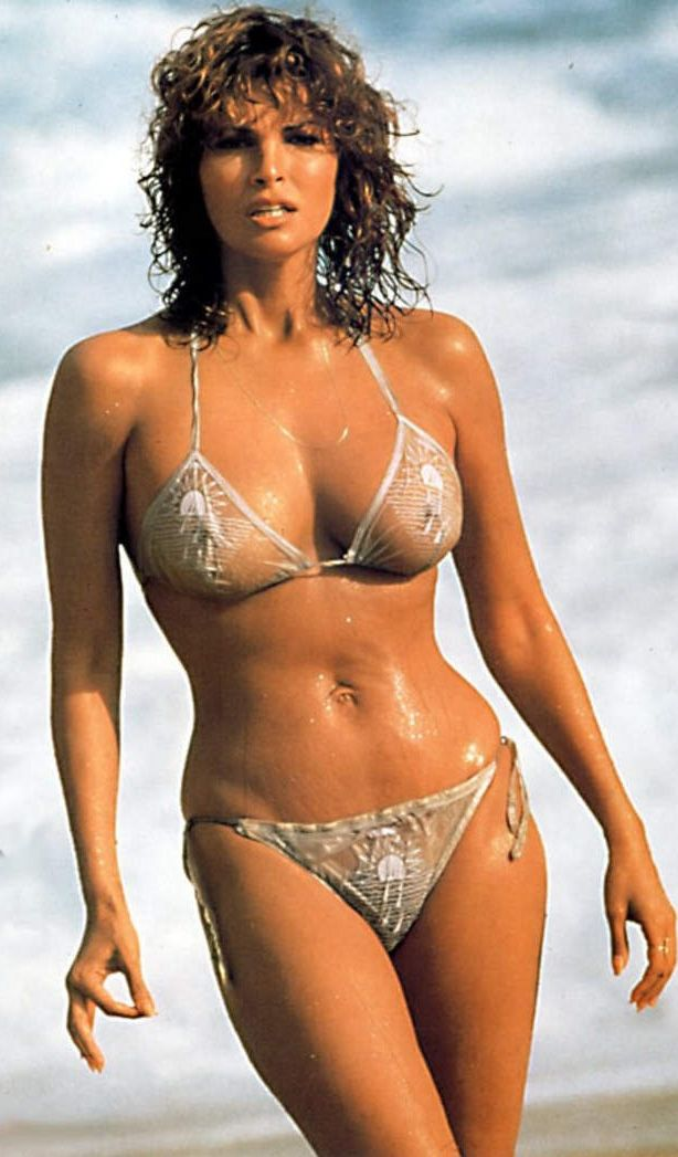 Raquel In A See Through Bikini 1980 S ★ Raquel Welch