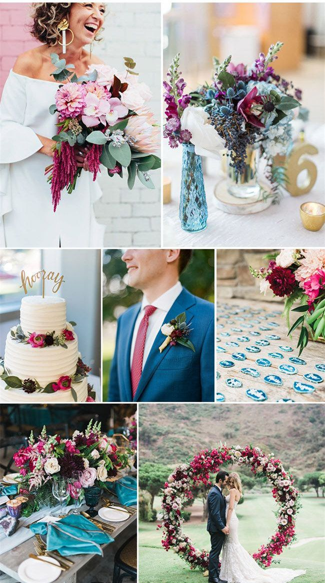 42 Refreshing Summer Wedding Ideas To Rock Weddinginclude August Wedding Colors Mauve Wedding Colors Spring Wedding Colors