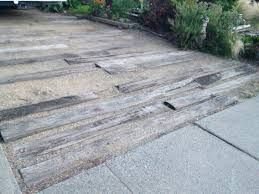 Image result for railway sleeper driveway