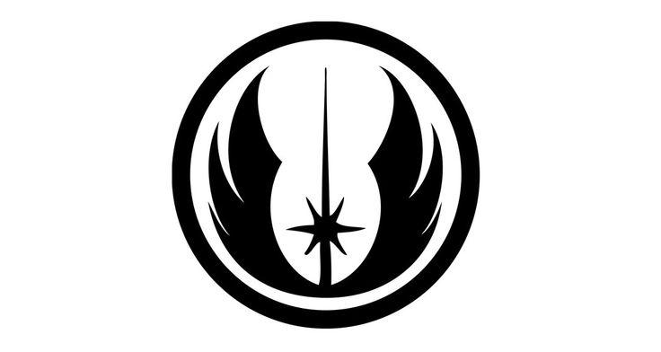 Jedi Stickers, Jedi Emblem Vinyl Decal, Star Wars Decal For Car, Star Wars Car Sticker, Stickers For Cars, Laptop Sticker, Bumper Sticker by vinylology on Etsy https://www.etsy.com/listing/221315712/jedi-stickers-jedi-emblem-vinyl-decal
