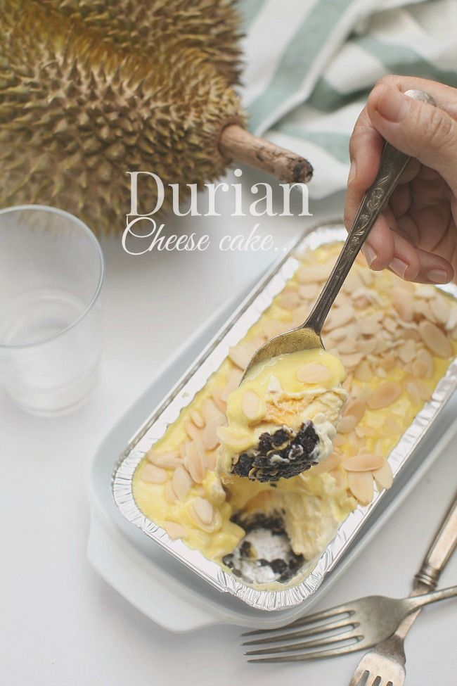 Pin Di Cake Durian
