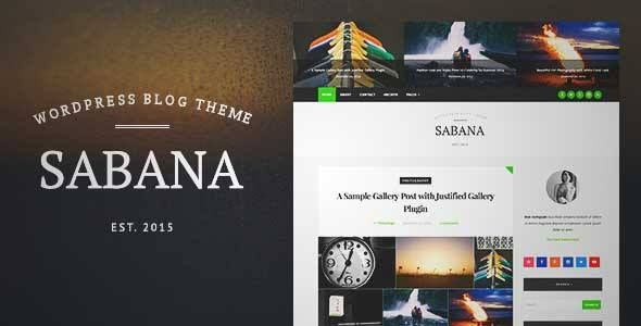 Download and review of Sabana - Clean & Elegant WordPress Blog Theme, one of the best Themeforest Magazine & Blogs themes {Download & review at|Review and download at} {|-> }http://best-wordpress-theme.net/sabana-clean-elegant-download-review/