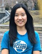 """Kris is our Long-Term Incoming Coordinator. She's from China and thinks that """"United Planet is a wonderful place to learn, to serve, to experience, to love, and to make a difference."""" #teamUP"""