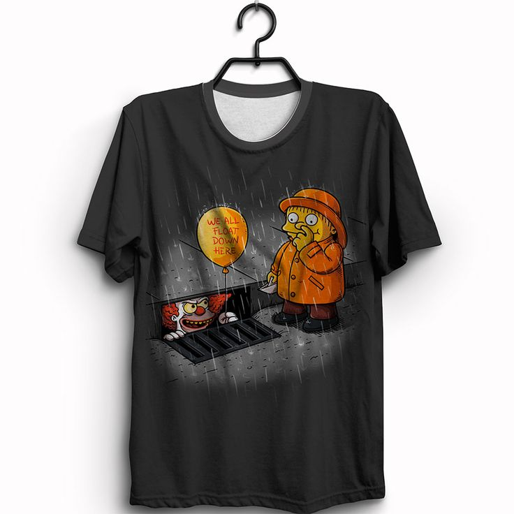 Camiseta We All Float Down Here by Ralph
