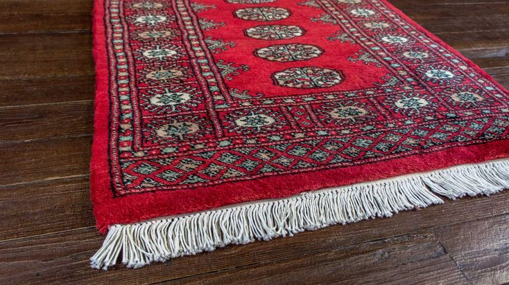 Hand Knotted Bokhara Runner from Pakistan. Length: 604.0cm by Width: 75.0cm. Only £883 at https://www.olneyrugs.co.uk/shop/runners-for-sale/pakistan-bokhara-19966.html    Feast your eyes on our amazing selection of antique rugs, footstools and Kilim cushion covers at www.olneyrugs.co.uk