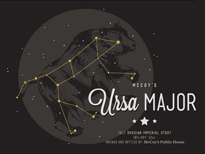 Ursa Major: Great Starry Bear - Powerful mother protecting her child - Against all harm