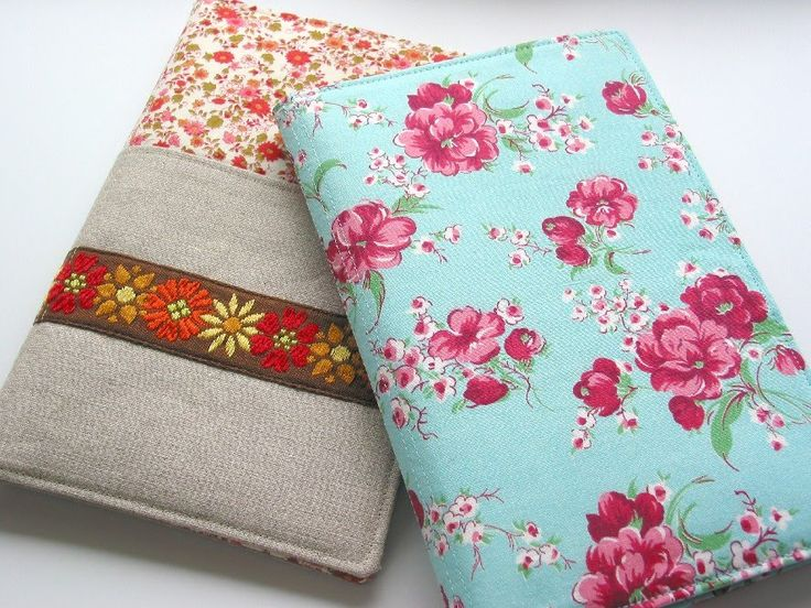 How to Sew Pretty Portfolio Covers A free sewing tutorial by Niesz Vintage