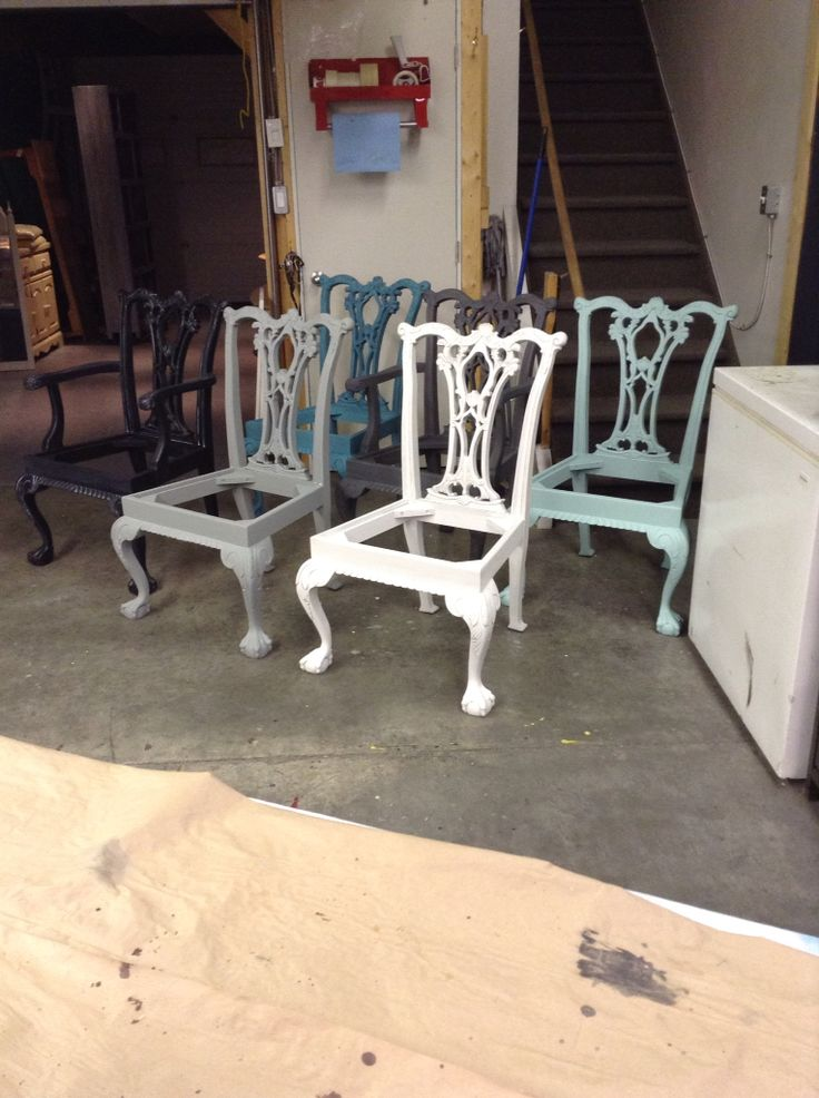 Superior Mismatched Dining Chairs. Mismatched Dining ChairsFurniture ProjectsBlack  MountainBlue ...