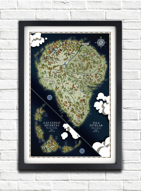 Hey, I found this really awesome Etsy listing at https://www.etsy.com/listing/214954222/jurassic-park-isla-nublar-map-17x11