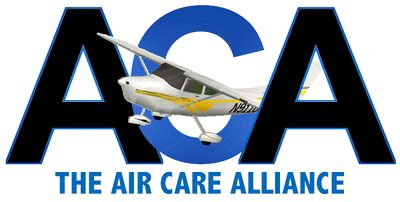 The Air Care Alliance is a nationwide league of humanitarian flying organizations whose volunteer pilot members are dedicated to community service.