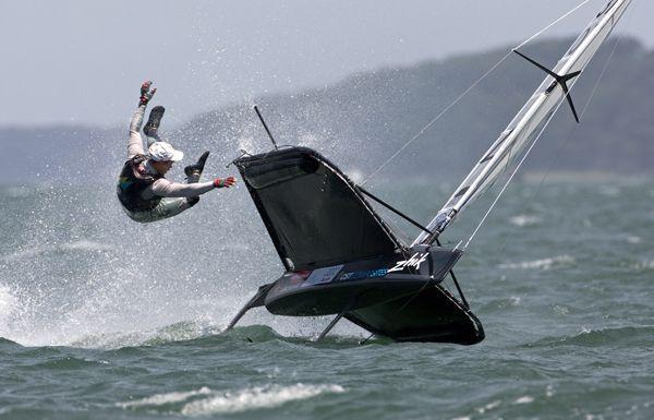moth sailing! part of the fun of it! sailing# sailing# sailing#
