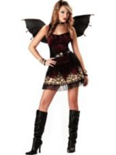 Teen Girls Strangelings Candle in the Dark Fairy Costume-Horror, Gothic Costumes-Teen Girls Costumes-Teen Costumes-Halloween Costumes-Party City