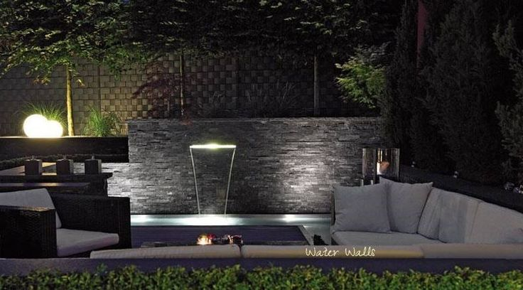 Image result for modern outdoor fountain