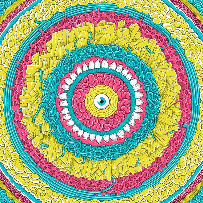 Mandala - Andrew Dernavich // Graphic Design & Art