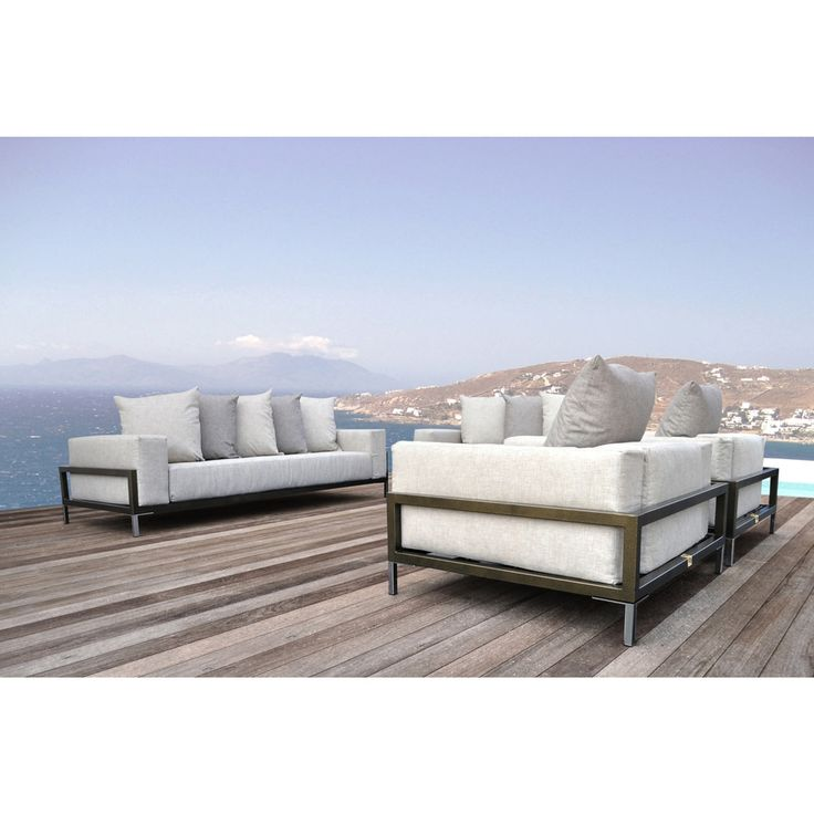 SOLIS Nubis Deep Seated Sofa for Indoors and Outdoors | Overstock.com Shopping - The Best Deals on Sofas, Chairs & Sectionals