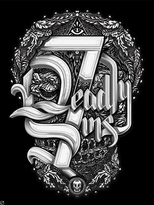 7 deadly sins : pinterest.com/fra411