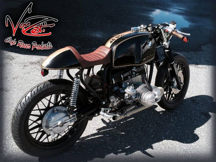 here's amherd's beautiful bmw cafe racer in switzerland, with a