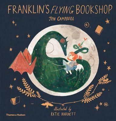 Franklin's Flying Bookshop : Jen Campbell : 9780500651094 Franklin the dragon loves stories and loves reading stories to people too, but everyone is too scared to even talk to him. One day, he meets a girl named Luna who, rather than being afraid, is fascinated to meet Franklin, having recently read all about dragons in one of her books. They instantly become friends and talk nonstop about what they've read: books about roller-skating, King Arthur, spiders, and how to do kung fu.