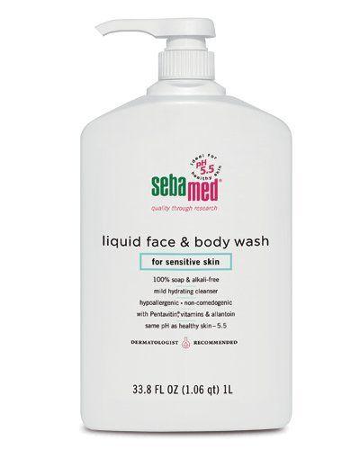 Sebamed Face and Body Wash, for Sensitive Skin 33.8-Fluid Ounces Bottle Sebamed http://www.amazon.com/dp/B00381A7OW/ref=cm_sw_r_pi_dp_QueXub1SK73SJ