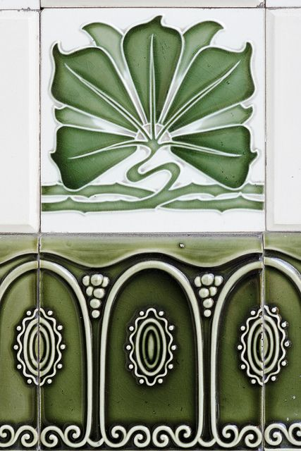majolica tiles rim art nouveau art d co et carrelage. Black Bedroom Furniture Sets. Home Design Ideas
