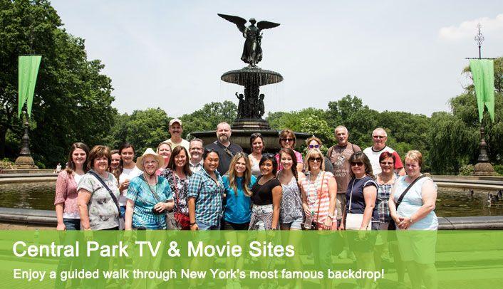 Central Park TV & Movie Sites Tour | Central Park Walking Tour NYC : On Location Tours
