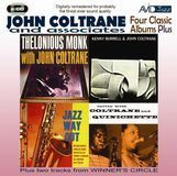 Four Classic Albums Plus: Thelonious Monk with John Coltrane/Cattin' with Coltrane And Quinichette/Jazz Way Out/Kenny Burrell & John Coltrane [CD]