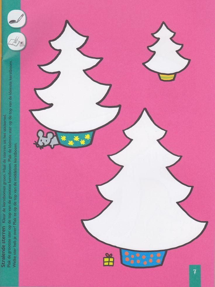 Kerstbomen kleuren en versieren