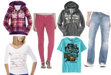 It's Back! Get Aeropostale Clothes for Teens at Nearly 80% Off!