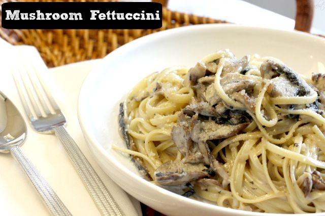 This is SOOOO good!! You have to try it! Mushroom Fettuccini | The Regalist