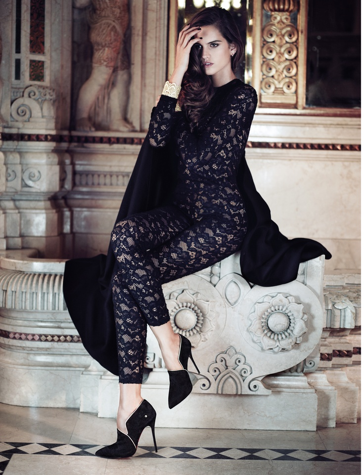 Models Izabel Goulart, Tony Ward  Photographer Stefano Galuzzi