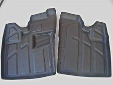 Polaris RZR floor protectors mats trays, rubber, razor, 800, 900 accessories